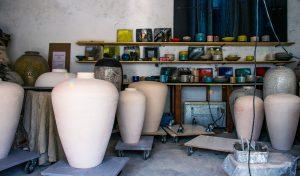Atelier de poterie à la pommerie